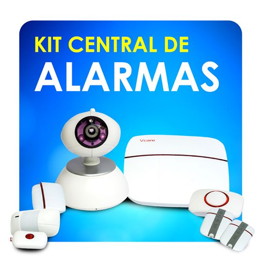 Kit de Alarmas Inalámbrica